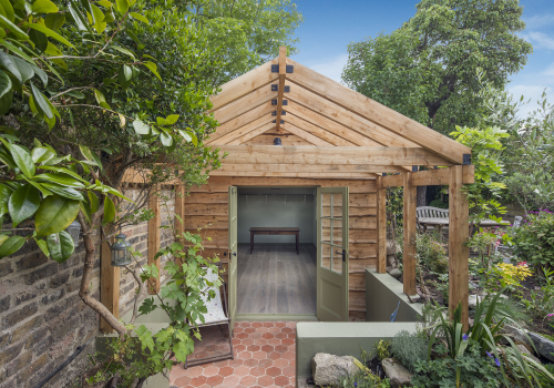 Garden Room and Pergola, Hammersmith